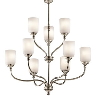Kayleigh 9-Light Shaded Chandelier