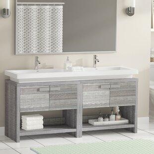 Gaynelle 63 Double Bathroom Vanity Set by Orren Ellis