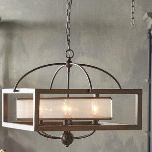 Loon Peak Bundoran 6-Light Square/Rectangle Chandelier