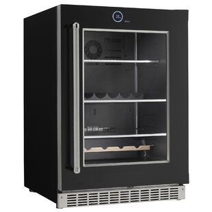 Bottle Cans Built-in All Fridge 23.88-inch 5 Cu. Ft. Undercounter Beverage Center by Danby Fresh