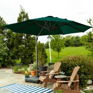 Sunblock 10' Cantilever Umbrella by Budge Industries