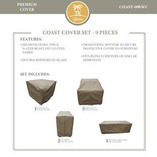 TK Classics Coast 9 Piece Protective Pati..