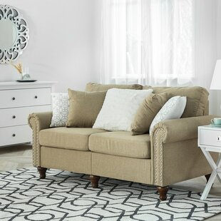 Budget Polly Loveseat by Charlton Home Reviews (2019) & Buyer's Guide