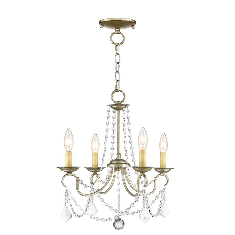 Devana 4-Light Candle Style Chandelier