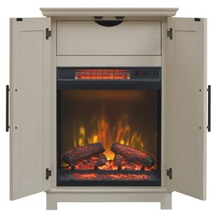 Kristen Cabinet Electric Fireplace by Charlton Home
