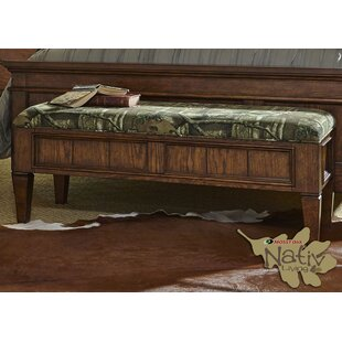 Loon Peak Sniktau Upholstered Storage Bench