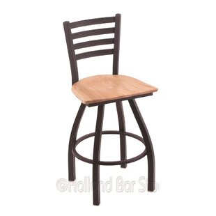 Evers 36 Swivel Bar Stool by Winston Porter