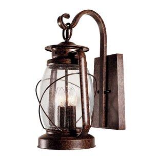 Comparison Bendel 4-Light Outdoor Wall Lantern By Breakwater Bay