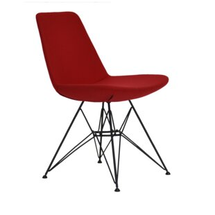 sohoConcept Eiffel Tower Genuine Leather Upholstered Dining Chair