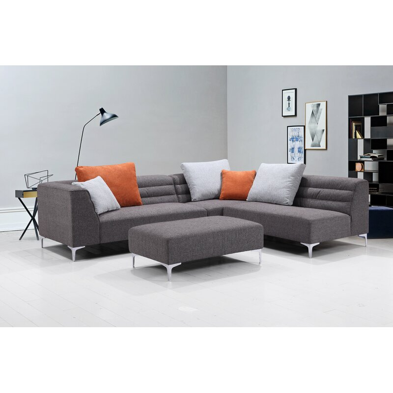Orren Ellis Uyen Versatile Living Room Modular Sectional