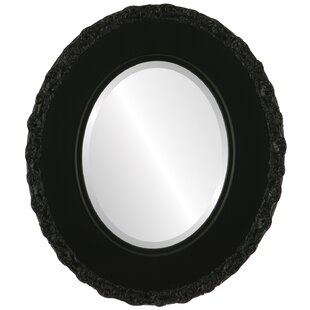 House of Hampton Wingard Framed Oval Accent Mirror