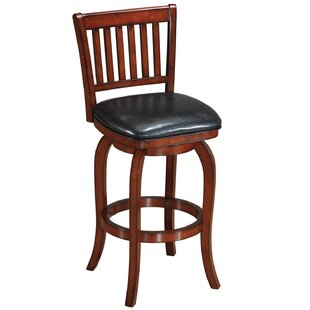 Coster Backed 29 Swivel Bar Stool Winston Porter