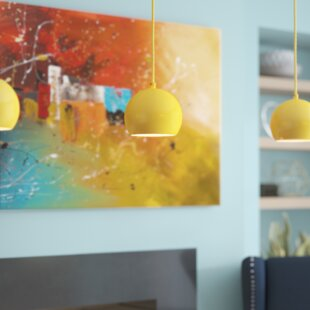 Graham 1-Light Globe Pendant by Turn on the Brights