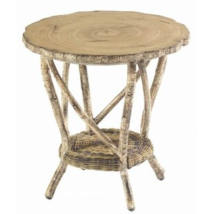 River Run Wicker Side Table