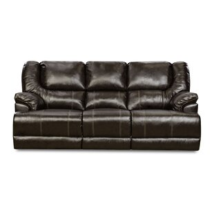 Shop Simmons Upholstery Starr Motion Reclining Sofa by Darby Home Co