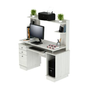 Santoro Computer Desk with Hutch