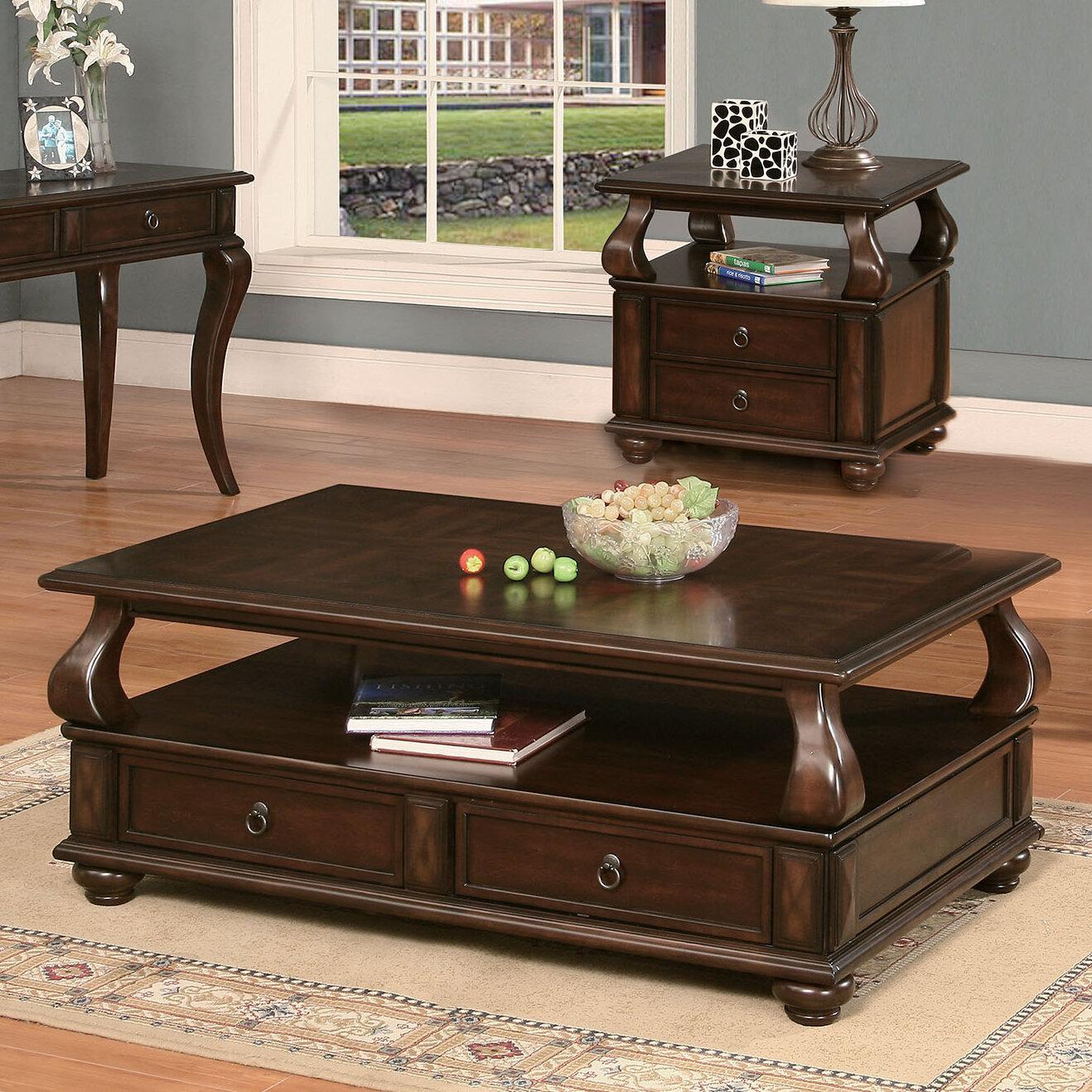 Coffee Table 3 Piece Sets.Chulmleigh 3 Piece Coffee Table Set