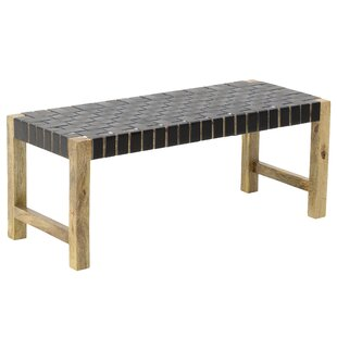 Bridgnorth Wood Bench By Bay Isle Home
