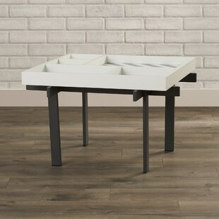 Behm Coffee Table with Tray Top Brayden Studio