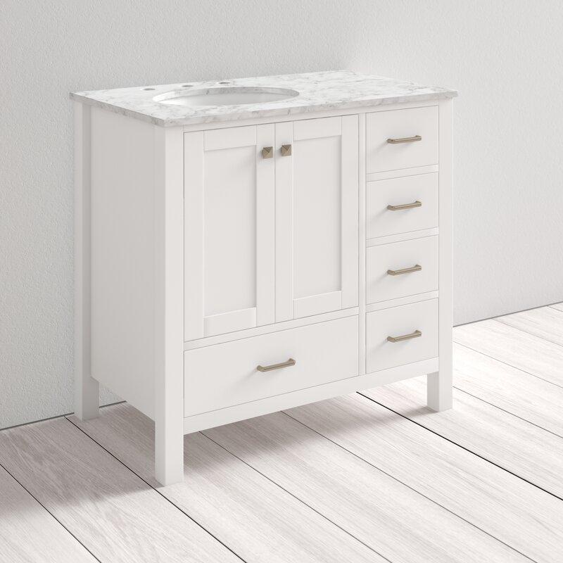 Juno Full Cabinet 36 Single Bathroom