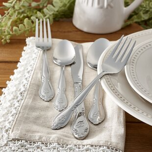 Tyree 46 Piece Flatware Set Service for 8