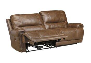 Exceptionnel Signature Design By Ashley Paron Leather Reclining Sofa U0026 Reviews   Wayfair