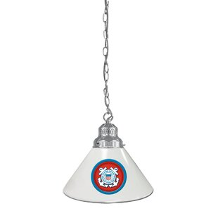 U.S. Armed Forces 1-Light Cone Pendant By Holland Bar Stool