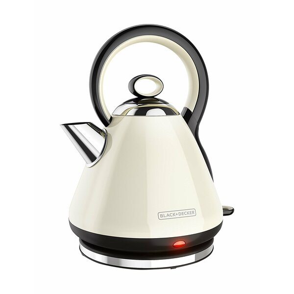 Black + Decker Stainless 1.8 Qt. Steel Electric Tea Kettle & Reviews by Black + Decker