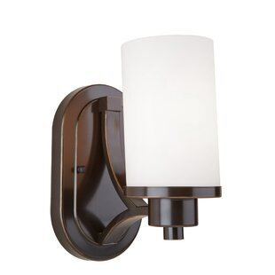 Reviews Amal 1-Light Wall Sconce By Red Barrel Studio