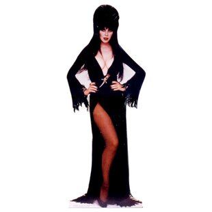 Halloween Elvira Cardboard Stand-up By Advanced Graphics