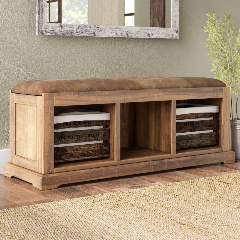 donovan solid wood hall storage bench reviews birch lane. Black Bedroom Furniture Sets. Home Design Ideas