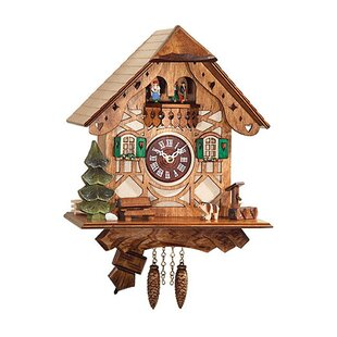 battery operated wall clock with music and chimes - Musical Christmas Clock