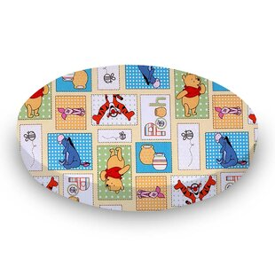 Best Review Winnie the Pooh Patch Fitted Crib Sheet By Sheetworld