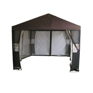 10 Ft. W x 10 Ft. D Steel Patio Gazebo by DC America