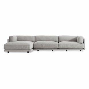 Blu Dot Sunday Sofa with Left Arm Chaise