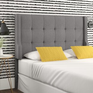 Carmean Upholstered Panel Headboard by Mercury Row