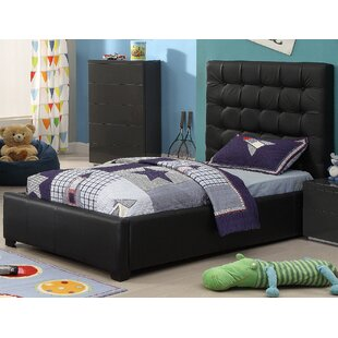 Towne Twin Upholstered Storage Platform Bed by Mack & Milo