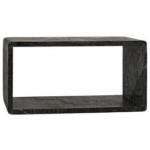 Reviews Foundation End Table by Noir