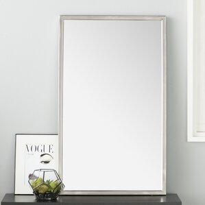 petrolia frame wall mirror - Mirror With White Frame