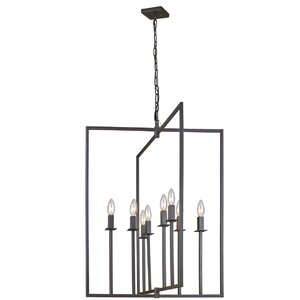 Camillea 8-Light Metal Foyer Pendant