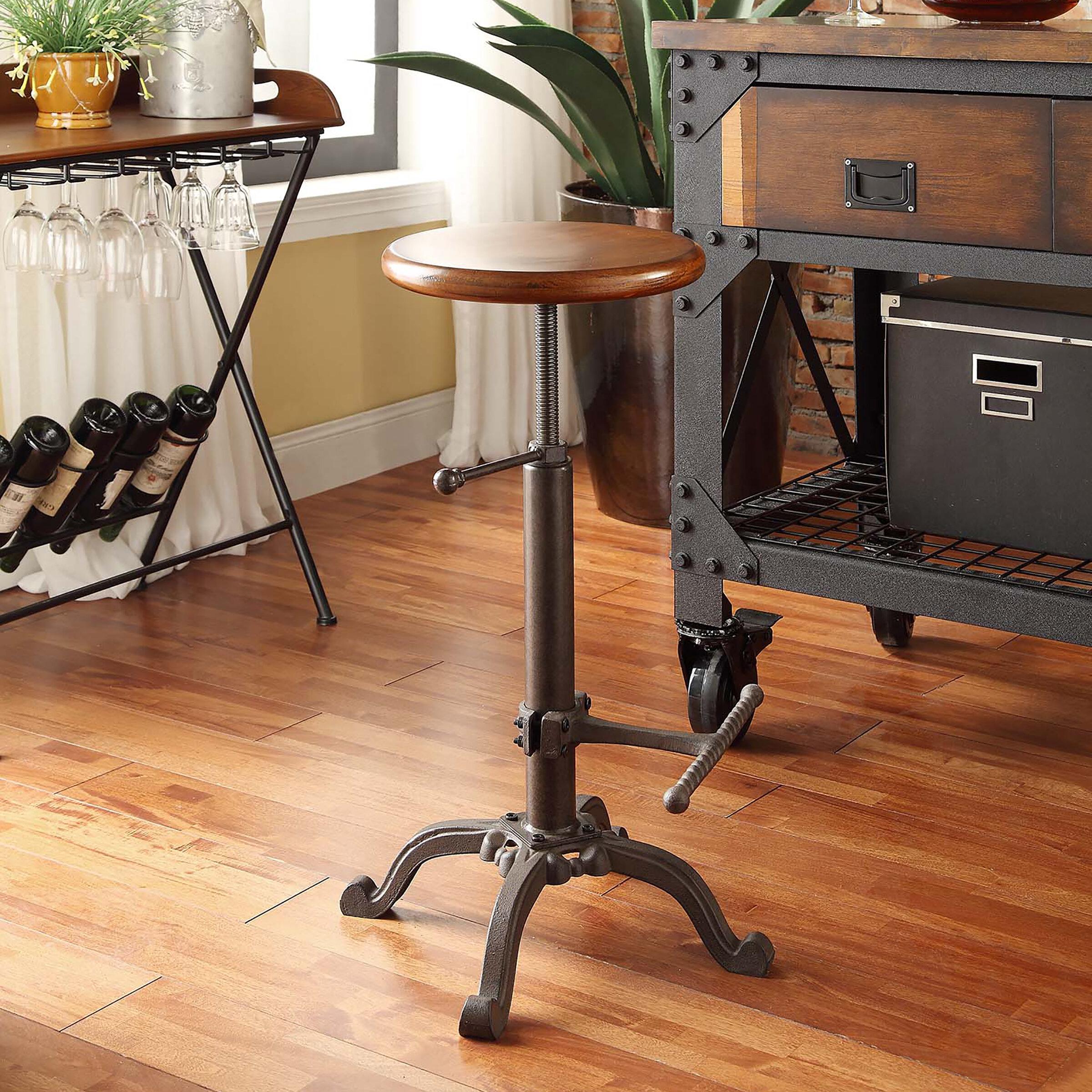 Sensational Adjustable Height Swivel Bar Stool Alphanode Cool Chair Designs And Ideas Alphanodeonline