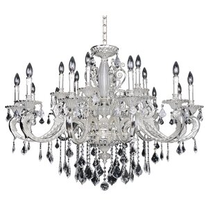 Allegri by Kalco Lighting Casella 18-Light Candle Style Chandelier