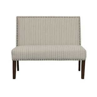 Block Upholstered Bench by Gracie Oaks