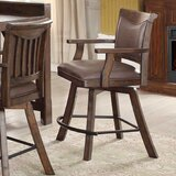 Tremper Swivel Bar & Counter Stool (Set of 2) by Millwood Pines