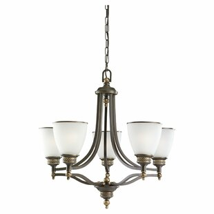 Darby Home Co Westerville 5-Light Shaded Chandelier
