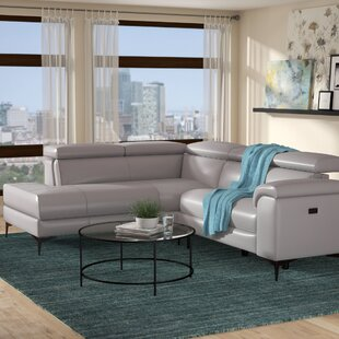 Compare prices Bryd Reclining Sectional by Orren Ellis Reviews (2019) & Buyer's Guide