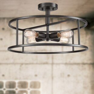 Cogdill 4-Light Semi Flush Mount by Williston Forge