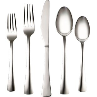 Coordinates Naomi 20 Piece Flatware Set, Service for 4