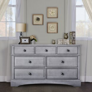 7 Drawer Double Dresser by Evolur
