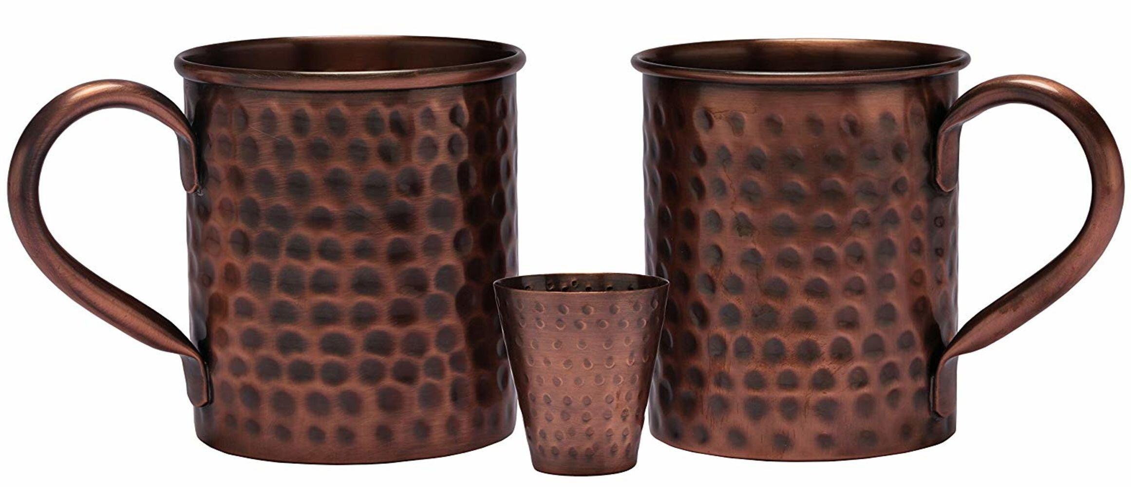 Geometric Catereco Moscow Mule Mugs You Ll Love In 2021 Wayfair
